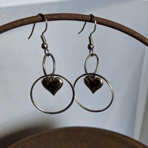 Heart Ear Rings
